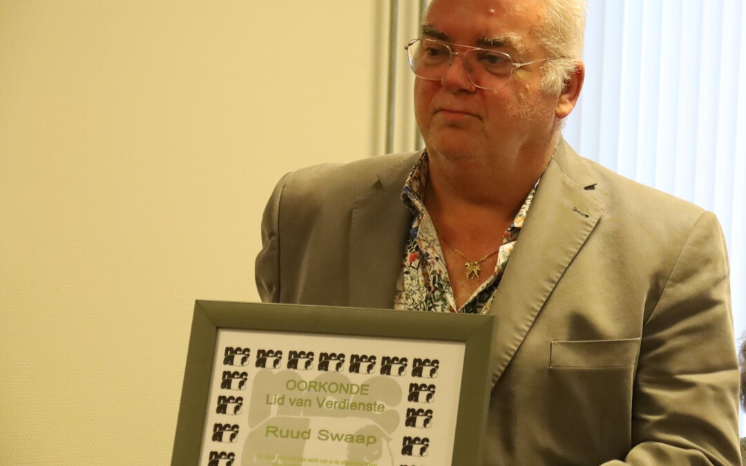 Ruud Swaap neemt na negen jaar afscheid als voorzitter van de Nederlandse Cavia Club (NCC)