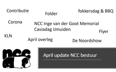 April update NCC bestuur