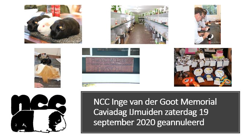 NCC Inge van der Goot Memorial Caviadag IJmuiden Zaterdag 19 september 2020 geannuleerd
