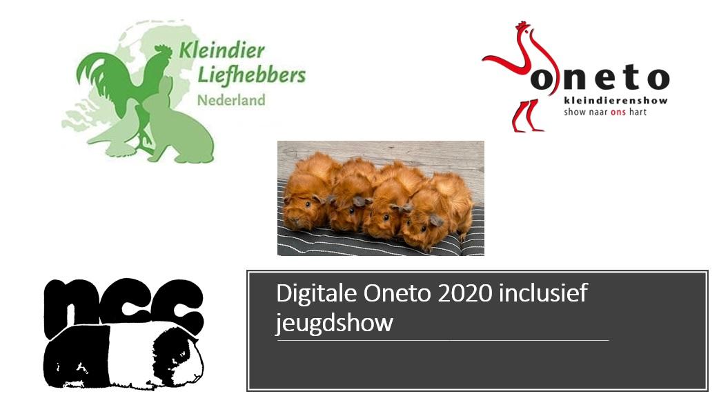 Digitale Oneto 2020 inclusief jeugdshow