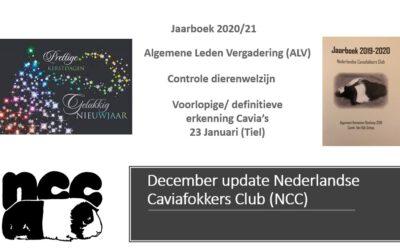 December update NCC Bestuur