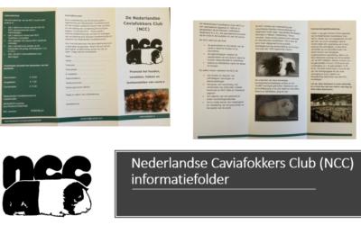 Informatie folder Nederlandse Caviafokkers Club (NCC) beschikbaar
